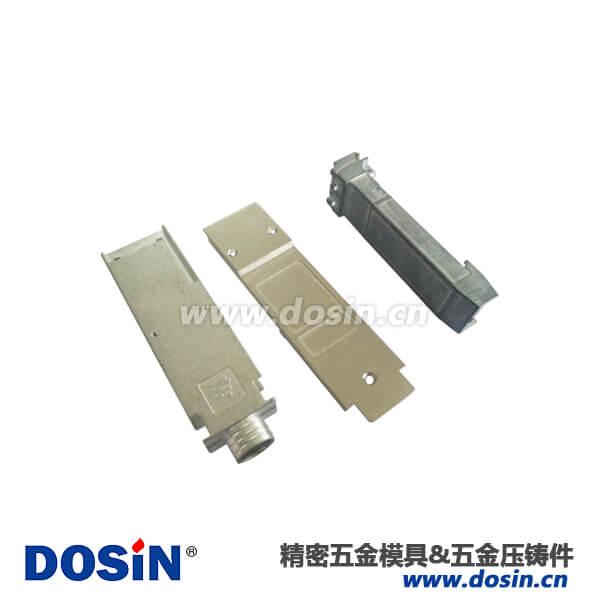 锌合金的压铸连接器外壳光模块喷砂镀镍