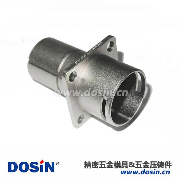 东莞锌合金压铸件新能源镀镍方盘壳体