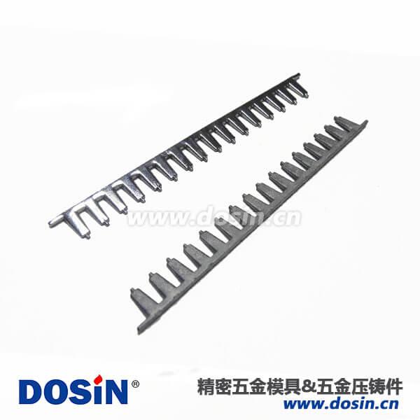 铝合金压铸镀镍铬梳条铝合金配件