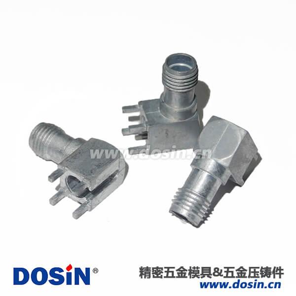 重庆锌合金压铸射频RF连接器外壳