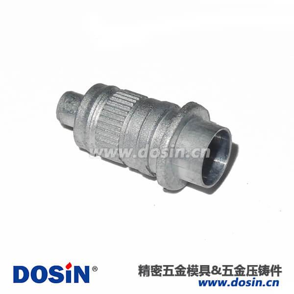 广州锌合金压铸RF射频连接器外壳锌合金