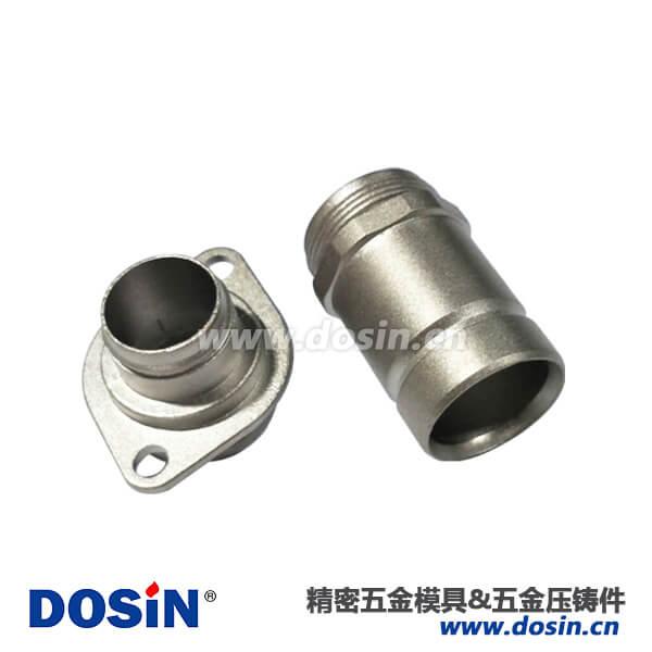 航空插头铝合金压铸壳体化学镍