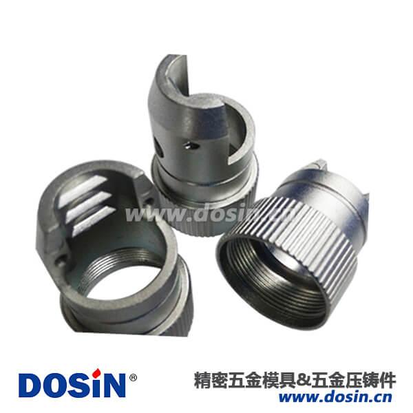 连接器尾夹铝合金压铸壳体