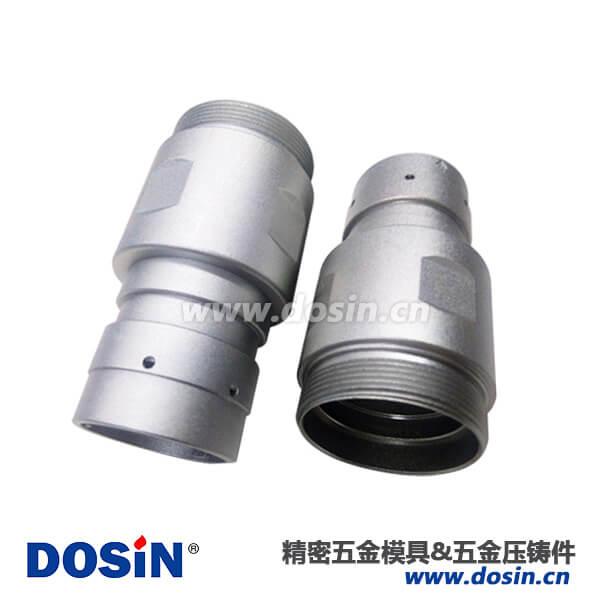 圆形连接器铝合金压铸外壳化学镍