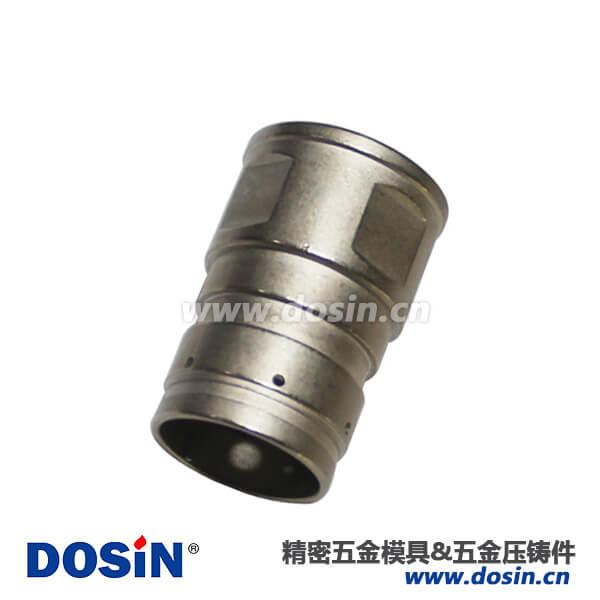 航空插件锌合金压铸件电镀化学镍