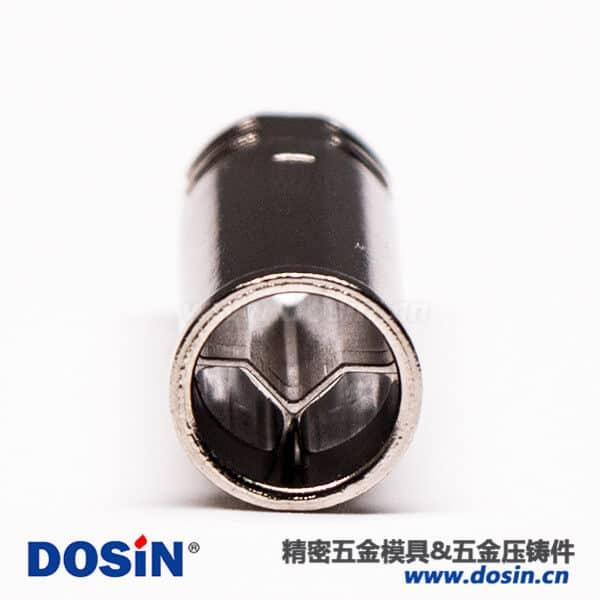 锌合金外壳M8连接器电镀镀镍