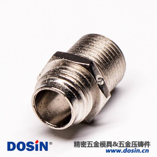 汽车连接器外壳镀镍压铸件