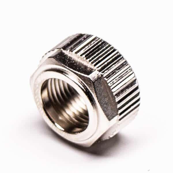 电子连接器外壳锌合金圆形压铸件镀镍
