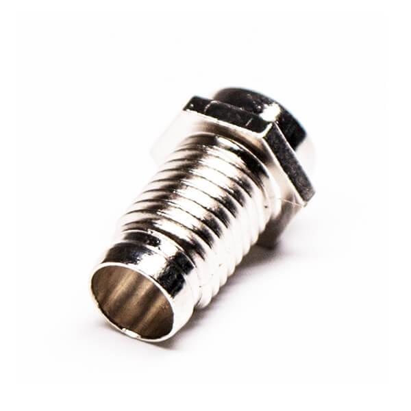 压铸外壳F连接器锌合金螺套