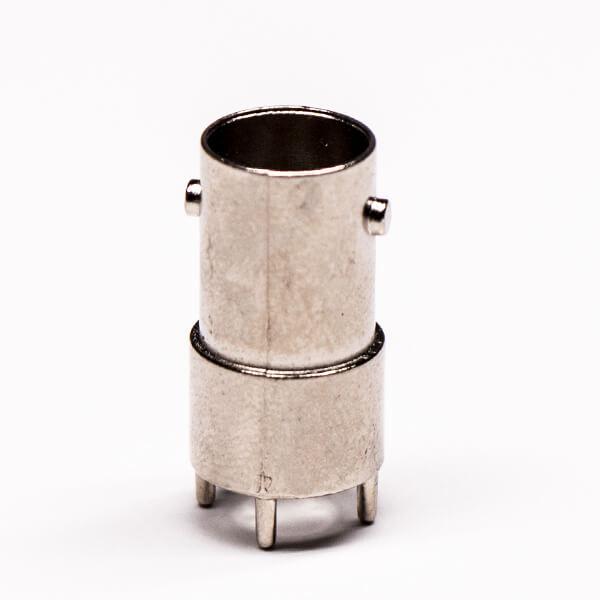 BNC母头外壳180度锌合金镀镍